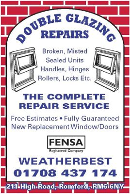 Repairs - Weatherbest Conservatories, Windows and Doors